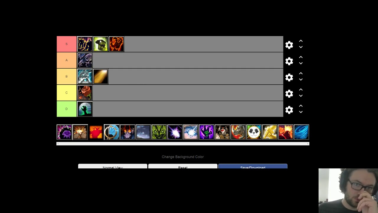 Wc3 The Ultimates Tier List With Starshaped Youtube