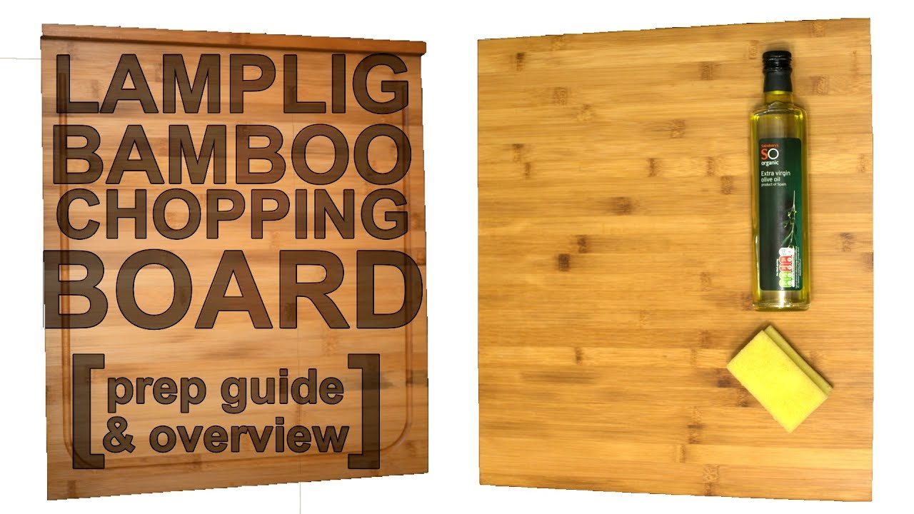 Lamplig Bamboo Chopping Board How To Oil Your New Chopping Block