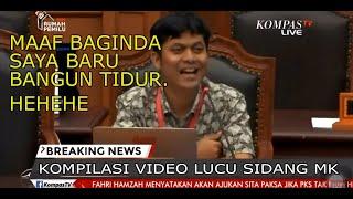 KOMPILASI VIDEO LUCU SIDANG MK PART 1 (Sengketa Pilpres Oleh Paslon 02))