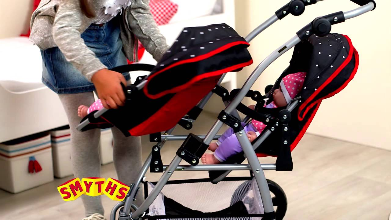 Double Buggies Smyths Smyths Toys Kate Tandem Pushchair Funnycat Tv