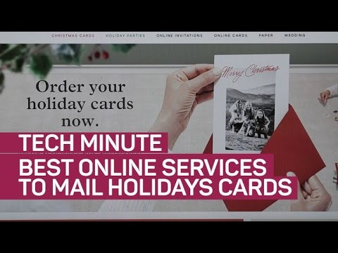Best online services to mail holiday cards