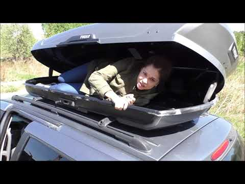 Багажник на крышу Thule Motion XT XL. Обзор