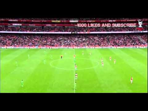 Arsenal Vs VfL Wolfsburg 1 - 0 Full Match (Emirates Cup 2015)