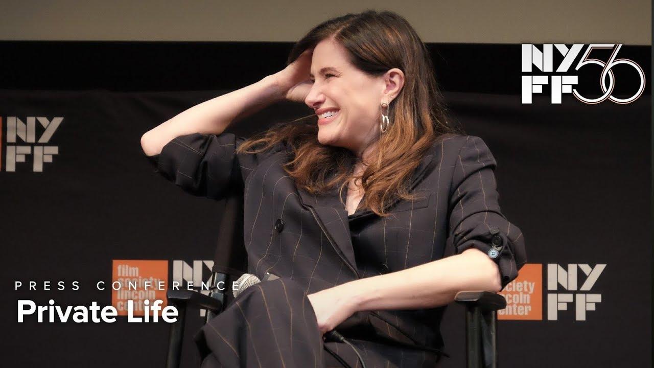 'Private Life' Press Conference | Tamara Jenkins & Cast | NYFF56