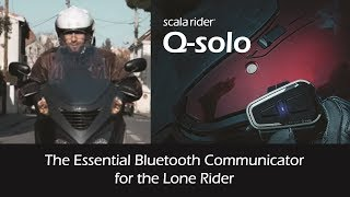 Cardo Scala Rider Q-solo Bluetooth Headset: keeps you connected at all times