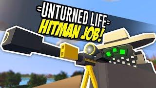 HITMAN JOB - Unturned Life Roleplay #135