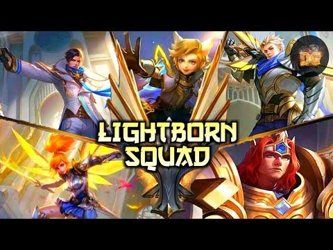 Lightborn Squad Mobile Legends Bang Bang Youtube