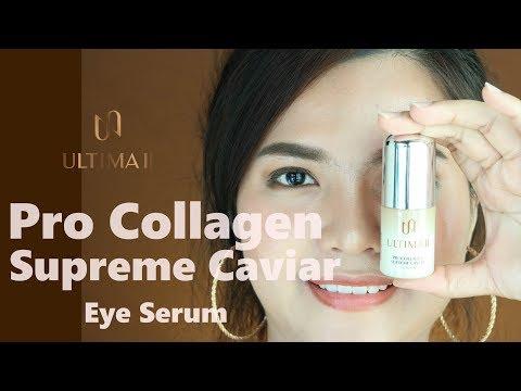 Lallun|: Review เซรั่มรอบดวงตา ULTIMA II Procollagen Supreme Caviar