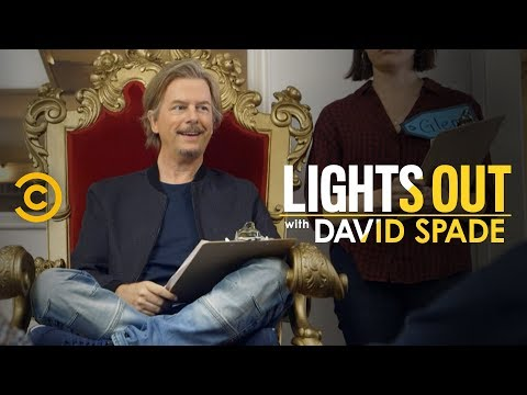 Spade's Staff Meeting Takes Some Sharp Turns (feat. Jon Lovitz) - Lights Out with David Spade thumbnail