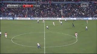 Nacional de Montevideo 0 - 2 Independiente Santa Fe Copa Sudamericana 2015