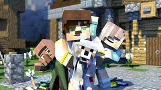Minecraft Evi Şarkısı Animasyonlu Klip - A Minecraft Original Music Video !