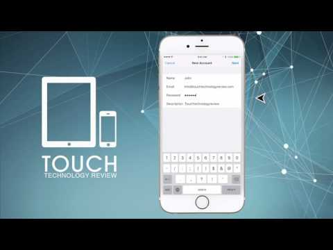 How to set up email on the latest iPhone 6s or iPad -  POP or iMAP - Step by Step Tutorial