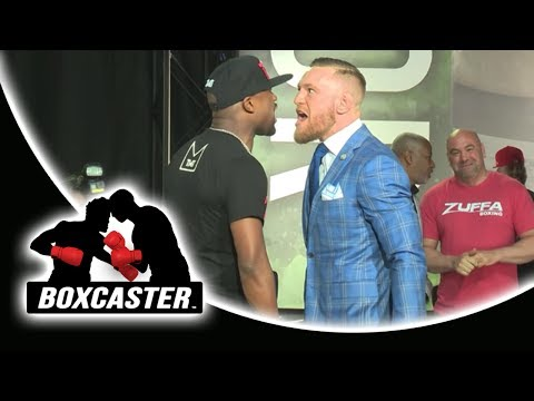Floyd Mayweather vs. Conor McGregor in Toronto - Full Press Conference