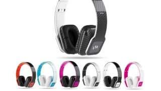 VM Audio Elux On-Ear Hyperbass Headphones | EXHB100