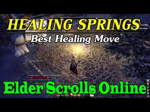 Elder Scrolls Online Healing Springs Discussion