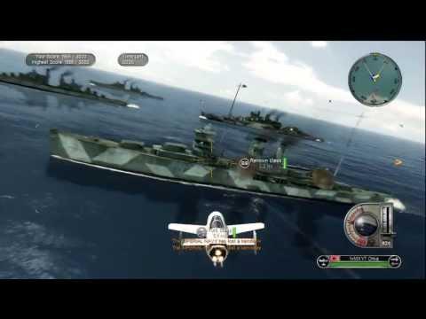 Battlestations Pacific Kamikaze Gameplay