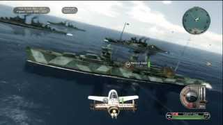 Battlestations Pacific Kamikaze Gameplay