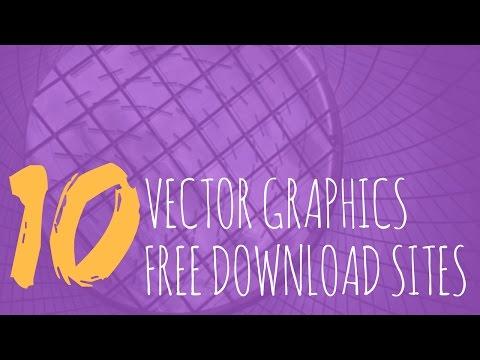 Top 10 Websites For FREE Vector Art / Graphics / Design Download  -- Instant Graphics Review