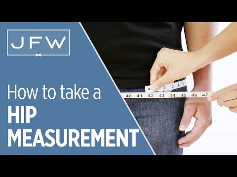 Hip Measurement For Tuxedo And Suit Rentals