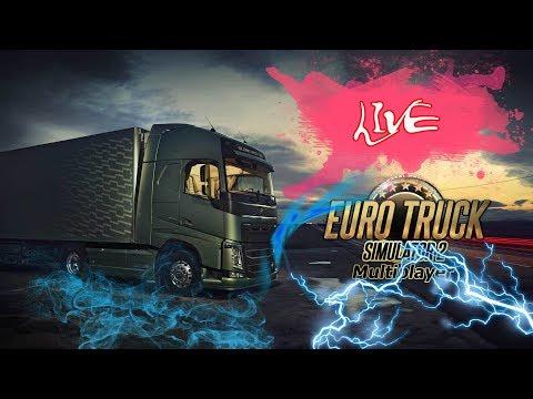 Euro Truck Simulator 2. Multiplayer. Дорога ярости. 18+