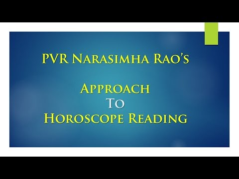 PVR Narasimha's Approach To Reading Charts