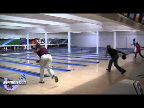 #2 Bowling League Action Warwick Lanes Bermuda Feb 19th 2011