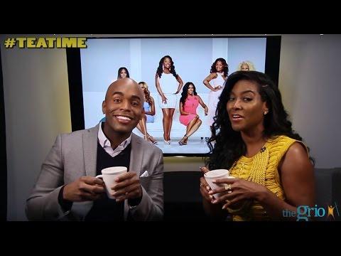 #TeaTime: Kenya Moore spills the tea on Donald Trump, Stacey Dash, and Kanye West