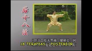 DESCRIÇÃO e DEMONSTRAÇÃO da 1ª série de movimentos - 18 TERAPIAS POSTERIOR -