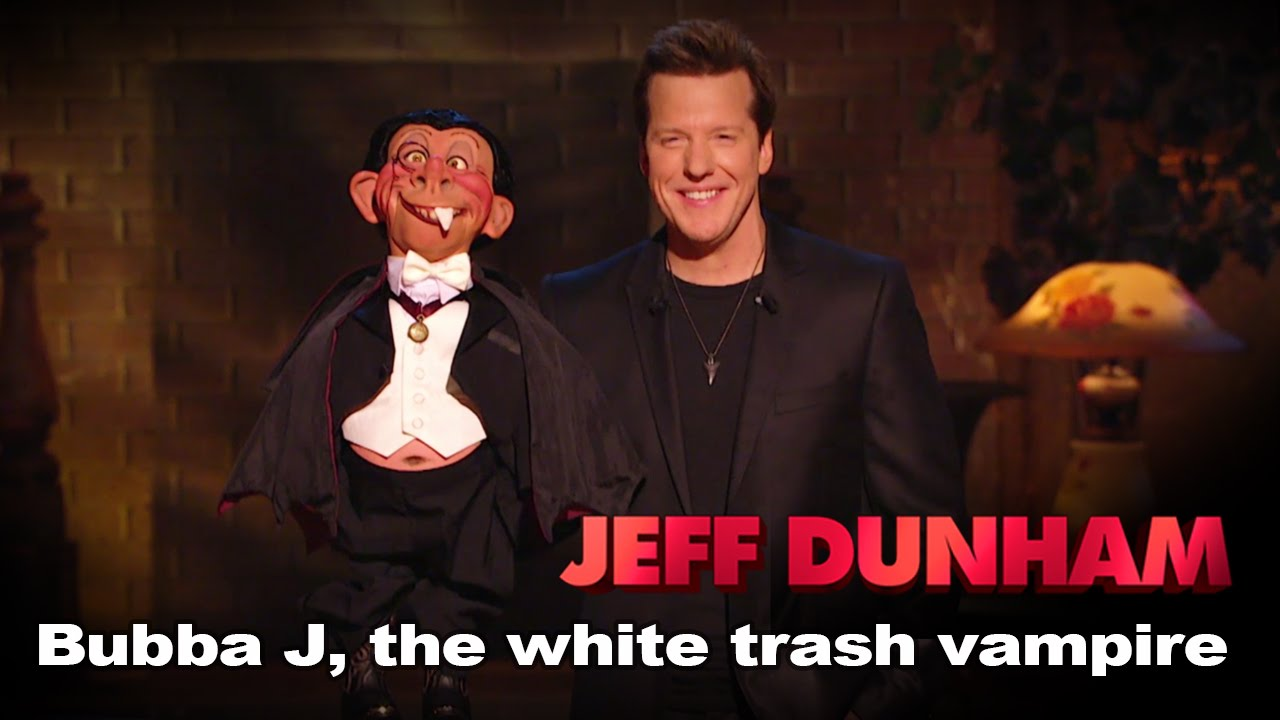 """Download """"Bubba J, the white trash vampire""""   Minding the Monsters    JEFF DUNHAM"""