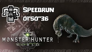 "MHWorld - Speedrun - CLUST vs DEVILJHO  1""50'36 Day 1 Speedrun"