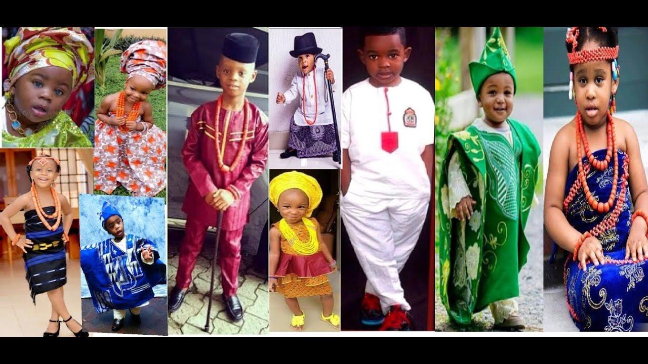 Aso Ebi Styles For Nigerian Children
