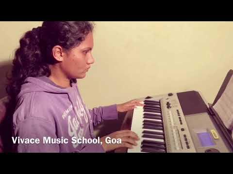 Trinity College London Initial Grade Keyboard Camptown Races - Vivace Music School Goa