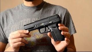 обзор страйкбольного пистолета Tokyo Marui FN Five-SeveN