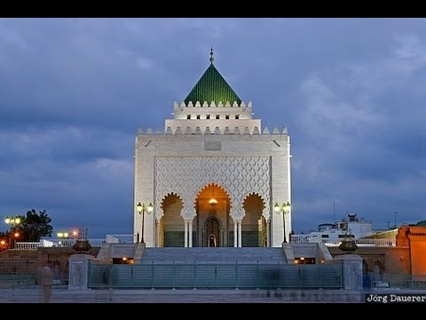 Mausoleum of mohammed 5  in Rabat The Capital of Morocco