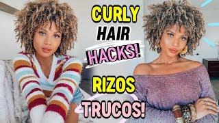 TRUCOS PARA UNOS RIZOS PERFECTOS - CURLY HAIR HACKS | Doralys Britto