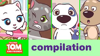 Talking Tom and Friends Minis - Episodes 1-4 Binge Compilation thumbnail