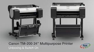 "Canon TM 200 24"" CAD / Poster Printer"