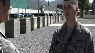 MaFish Laden Death in US Army Afghanistan 2/5/11 أسامة بن لادن