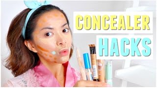 EASY Concealer Hacks To Get Perfect Skin! (No Cakey Finish)