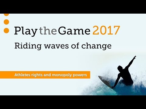 Play the Game 2017 - Athletes rights and monopoly powers
