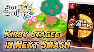 Kirby Stages in the Next Smash