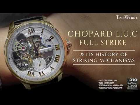 Chopard L.U.C Full Strike Minute Repeater & the brand's history of striking mechanisms