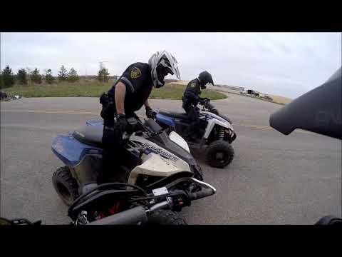 ATV Police Run Up On Me