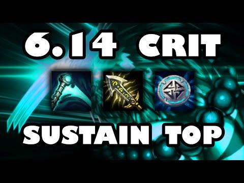 High Burst Crit Sustain | Top Lane Tiger Udyr Guide [6.14]