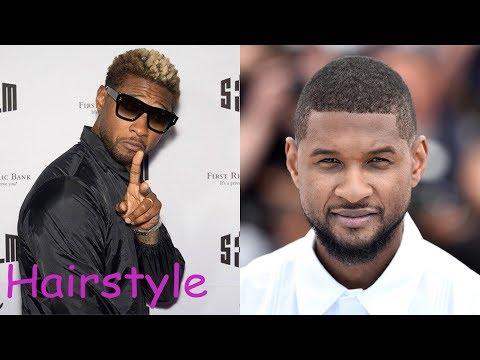 Usher hairstyle (2018)