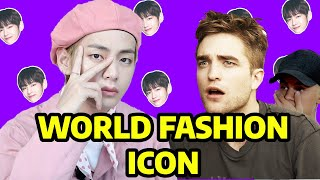 BTS V beats Robert Pattinson ?!?! || TOP 10 Men In Fashion World 2020