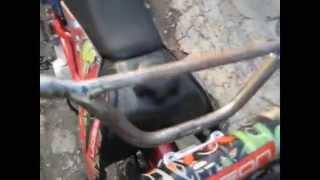 Восстановление старого ржавого руля на мотоцикл или велосипед