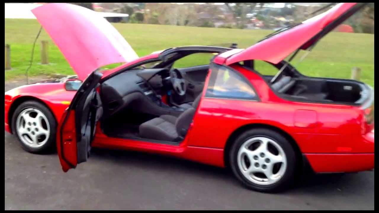 nissan 300zx 47k turbo 1989 fairlady z youtube. Black Bedroom Furniture Sets. Home Design Ideas