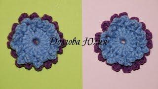 Вязание крючком для начинающих. Цветок скабиоза  \\  Crochet for beginners. flower scabious(Вязание крючком для начинающих. Цветок скабиоза http://youtu.be/68BOeMCFJ68 Вязание крючком для начинающих. Цветок..., 2015-01-27T03:44:43.000Z)