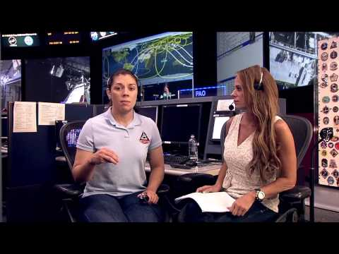 NASA Project Manager Julie Mitchell Talks Space With Student